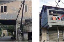11 Potret lucu bikin bangunan di pinggir jalan ini maksa banget