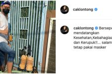 9 Caption lucu Cak Lontong di Instagram, recehnya nggak ada lawan