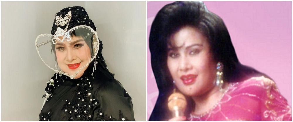 potret dulu dan kini aktris usia 60-an © berbagai sumber