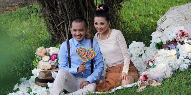 prewedding Ruben Onsu dan Sarwendah © 2021 brilio.net