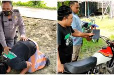 Guru honorer 17 tahun di pedalaman ini dapat hadiah motor, bikin haru