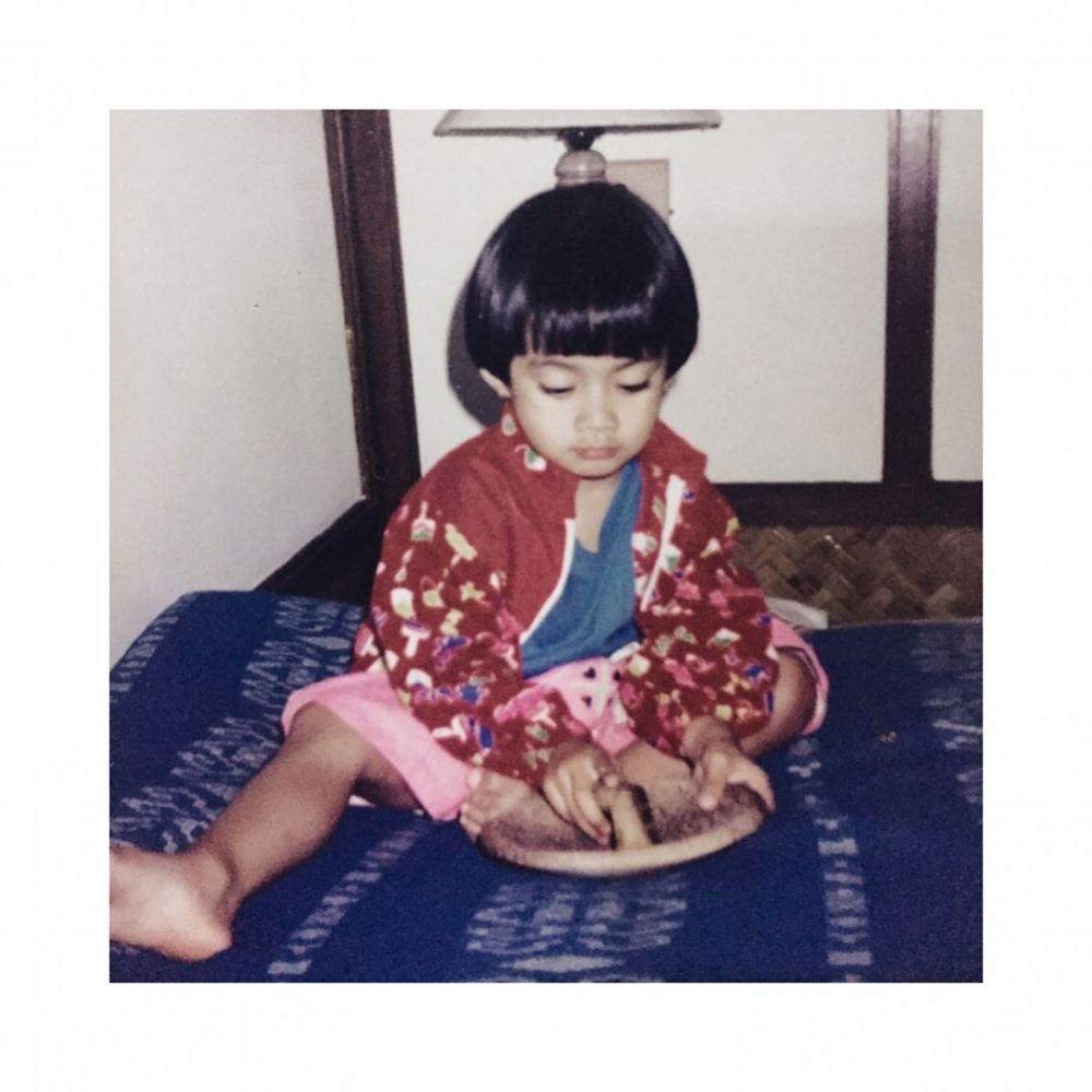 potret masa kecil ayudia bing slamet © instagram