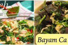 11 Resep sayur bayam ala rumahan, sederhana, sehat, dan mudah dibuat