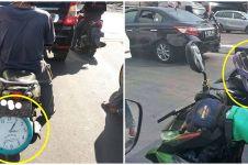 11 Benda nyeleneh di sepeda motor ini bikin lihat dua kali, kocak abis