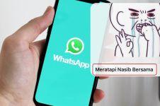13 Nama grup chat lucu pertemanan di WhatsApp, bikin geleng kepala
