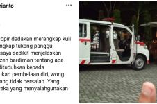 Dituduh takuti warga, relawan buka fakta soal sopir ambulans Covid-19