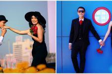 9 Potret lawas prewedding Ussy dan Andhika, bak adegan film romantis