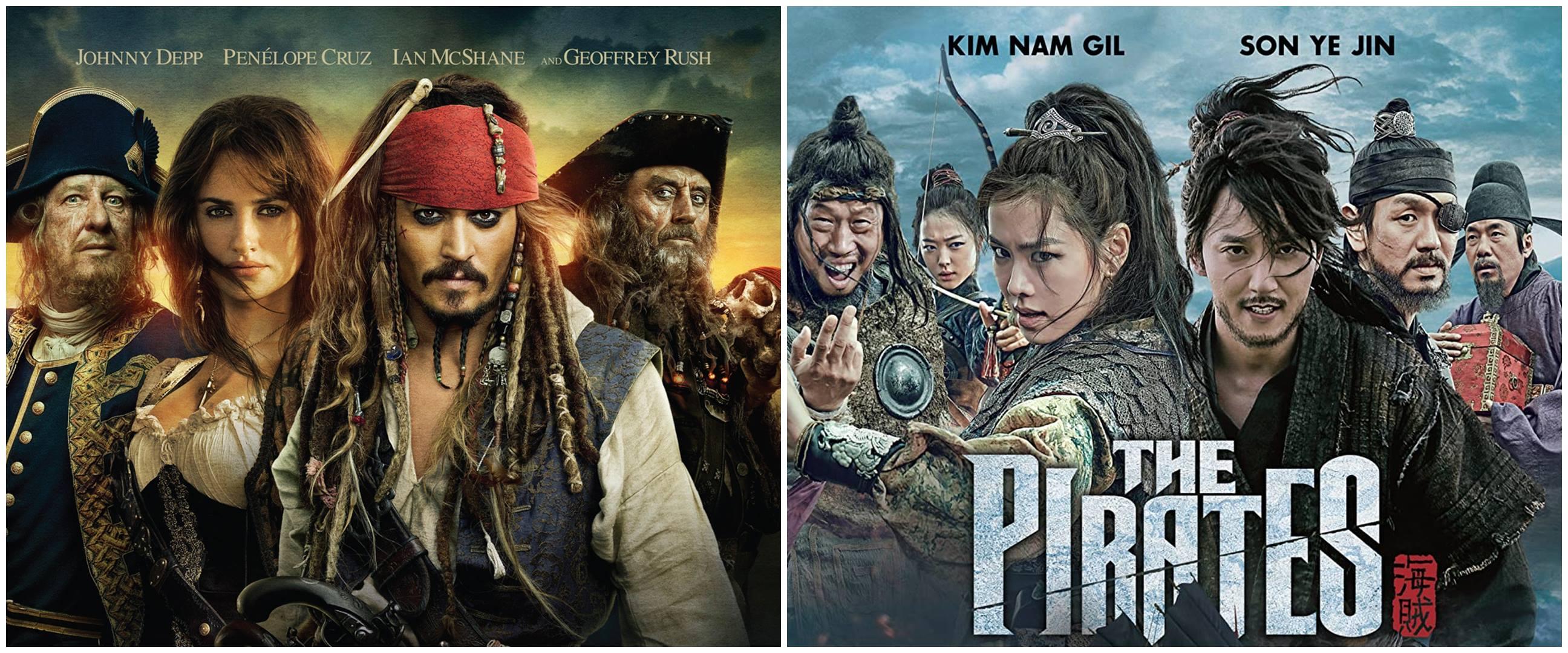 11 Film bertema bajak laut wajib ditonton, kocak sampai menegangkan