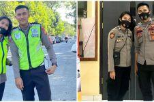 Sering tugas bareng, kebersamaan pasangan polisi ini bikin baper
