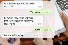 11 Chat lucu bertanya ke teman ini bikin senyum kesal