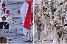 9 Potret kemeriahan pembukaan Olimpiade Tokyo 2020