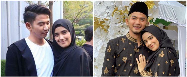 9 Momen Rizki DA & Nadya hadiri pernikahan sahabat, tampil mesra