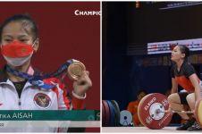 11 Potret Windy Cantika, lifter 19 tahun raih perunggu Olimpiade Tokyo