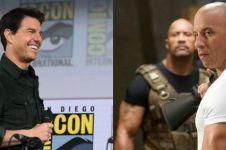 Potret 9 aktor Hollywood momong anak, gaya Tom Cruise curi perhatian