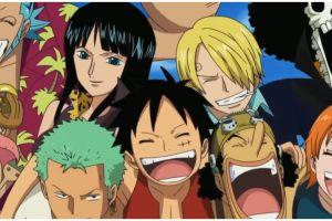 Makanan favorit 9 kru bajak laut Luffy One Piece ini bikin lapar