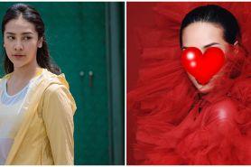 Biasa tampil natural, ini 9 potret Anya Geraldine bermakeup tebal