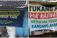 11 Spanduk jasa servis ini bukti orang Indonesia multitalenta