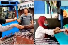 Aksi polisi bagi rezeki ke pedagang dan supir, tuai pujian