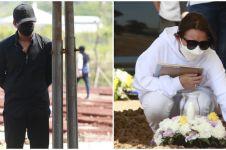 7 Momen Billy Syahputra di pemakaman ibunda Amanda Manopo