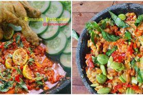 9 Resep makanan dengan sambal kemangi, pedas, sedap dan bikin nagih