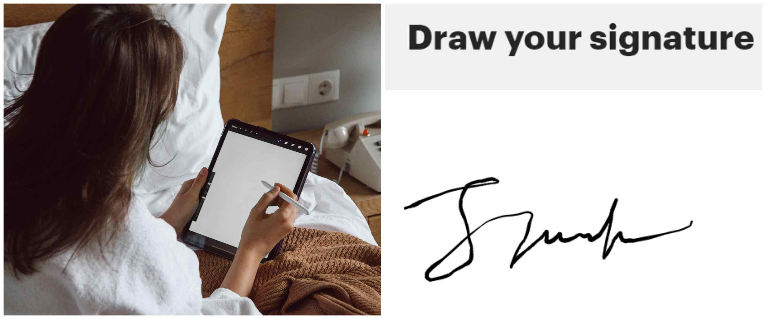 8 Cara membuat tanda tangan digital, mudah, cepat, dan praktis