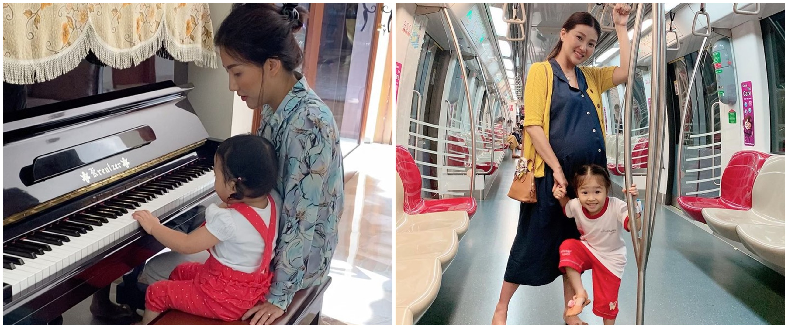 7 Momen Sarwendah dampingi anak sekolah online, gayanya curi perhatian