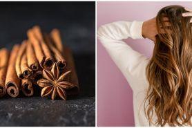 7 Manfaat kayu manis untuk rambut, atasi masalah ketombe