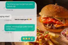 11 Chat lucu pesan makanan via online, bikin pembeli ngelus perut