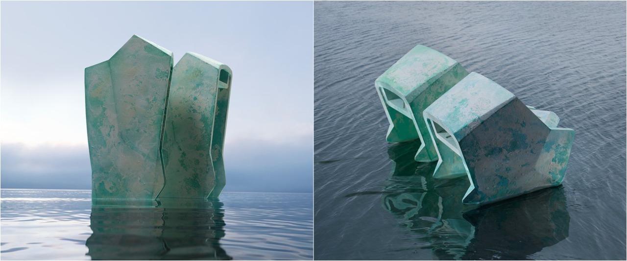 Penampakan sepatu 'antigenangan air' ini bentuknya unik banget