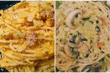 13 Resep masakan serba carbonara, simpel tapi bikin nagih