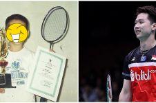 Potret masa kecil 11 atlet badminton, Kevin Sanjaya curi perhatian