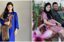 7 Potret nostalgia Annisa Pohan saat syukuran hamil anak pertama