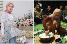 9 Momen Lesty Kejora pulang ke kampung halaman, nostalgia masa kecil