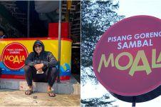 9 Potret kedai pisang Arie Kriting, bisnis bareng Arya Saloka