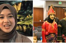 9 Potret Alya Lawindo, gadis Minang jadi guru ngaji di Amerika Serikat