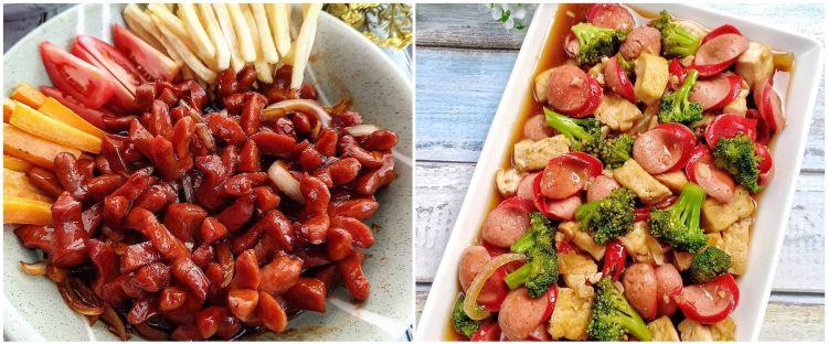 15 Resep tumis sosis, enak, praktis, dan cocok buat sarapan