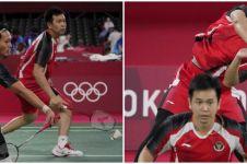 Dihentikan ganda Taipei, Ahsan/Hendra gagal ke final Olimpiade 2020