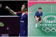 Aksi Lee/Wang sungkem The Daddies di Olimpiade Tokyo, bikin bangga