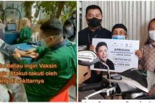 Ivan Gunawan berikan sepeda motor untuk kakek viral pejuang vaksin