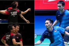 Dijegal ganda Malaysia, Ahsan/Hendra gagal bawa pulang medali