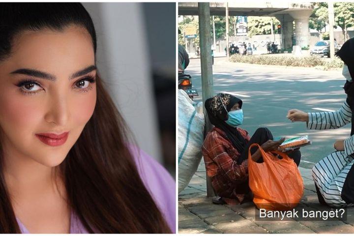 9 Momen haru Ashanty 'borong' jualan pedagang keliling, bikin salut
