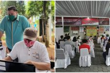 7 Momen Ivan Gunawan gelar vaksinasi massal, bikin salut
