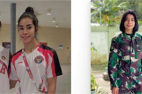 5 Pesona Alvina Tehupeiory, anggota TNI yang berlaga di Olimpiade 2020