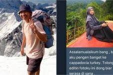 Minta diedit, 7 foto warganet di gunung ini hasilnya bikin tepuk jidat