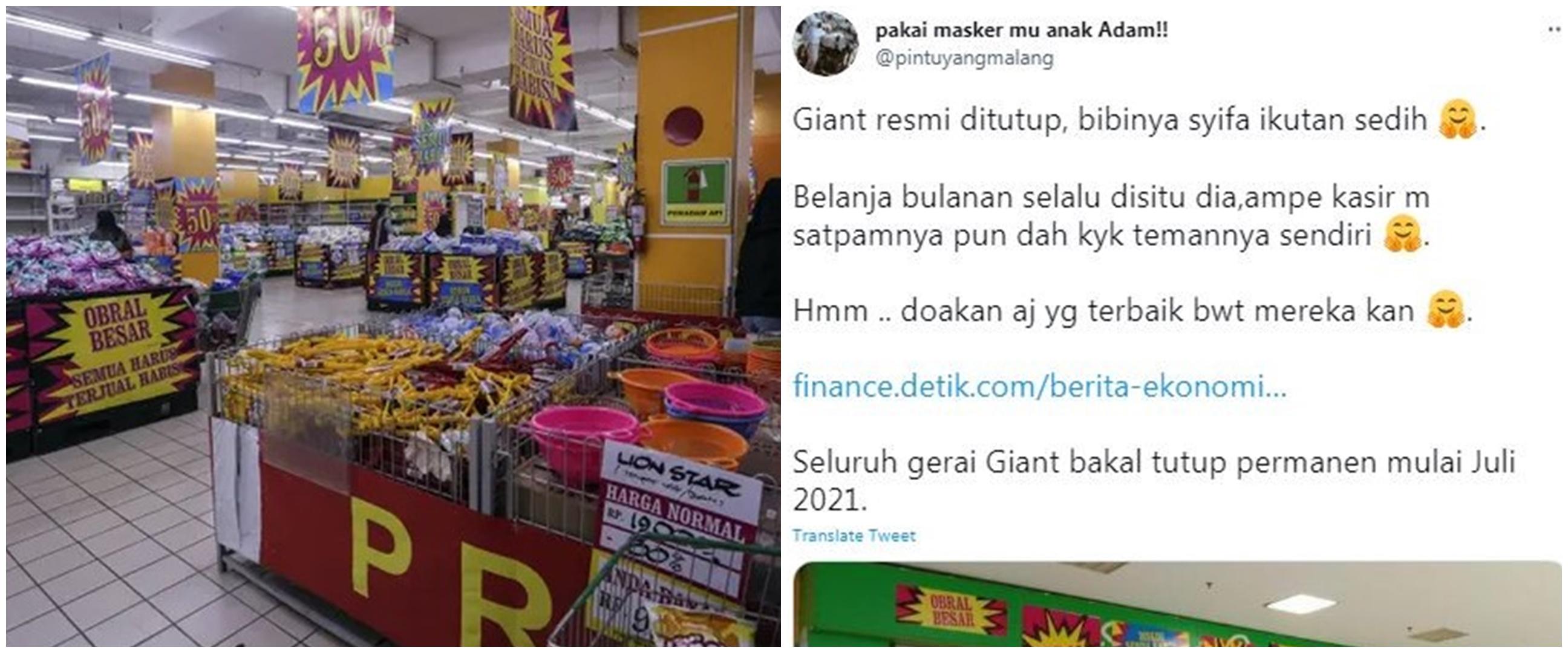 6 Fakta Giant tutup, diubah jadi Hero Supermarket?