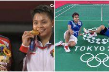 Drama raket Greysia Polii di final Olimpiade Tokyo, menegangkan