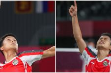 Anthony Sinisuka Ginting raih medali perunggu Olimpiade Tokyo 2020