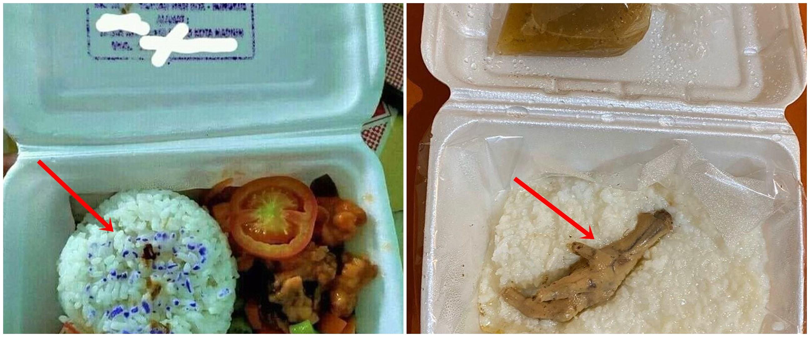 13 Momen apes buka nasi kotak ini bikin ngelus dada