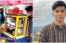 9 Potret terbaru usaha bakso Dimas Ahmad, dari gerobak hingga ada ruko