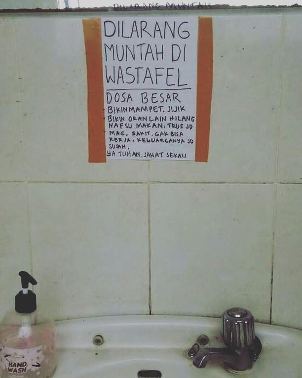 tata tertib lucu di toilet © 2021 1cak.com